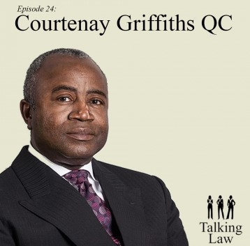 Courtenay Griffiths QC features in Episode 24 of Talking Law