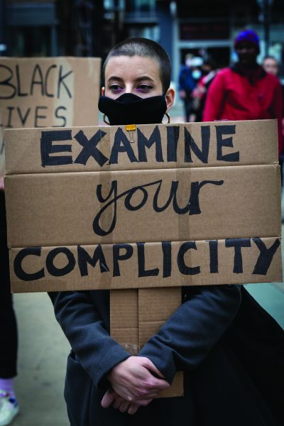 Black Lives Matter protest in Manchester, 7 Jun 2020